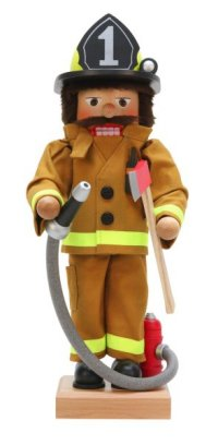An American Firefighter Nutcracker by Ulbricht - 2016 Limited Edition