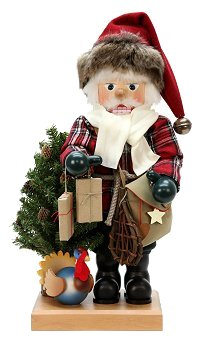 Rustic Santa Claus Nutcracker by Ulbricht - 2013 Limited Edition