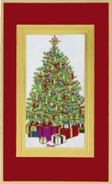 Decorated Tree - Brett Collection 2013 - Tapestry cards