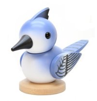 2015 Tour Bird nutcracker by Ulbricht - Blue Jay