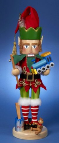This Elf Nutcracker is the 2nd Nutracker in the North Pole Series by Steinbach