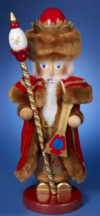This Siberian Santa is the 21st in the Christmas Legends Series of Steinbach Nutcrackers - Limited Edition and signed by Karla Steinbach