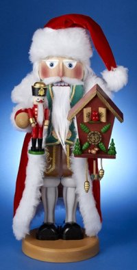 This German Santa is the 22nd in the Christmas Legends Series of Steinbach Nutcrackers - Limited Edition and signed by Karla Steinbach