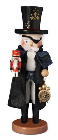 Herr Drosselmeyer is the 1st Nutracker in the Nutcracker Suite Series by Steinbach