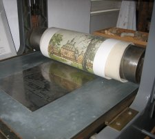 The Eidenberger press as seen in the Museum in Niederwaldkirchen, Austria.