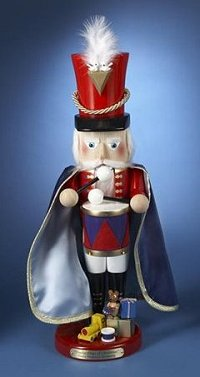 Twelve Drummers Drumming is the 9th Nutcracker released in the 12 Days of Christmas Series of Steinbach Nutcrackers - Limited Edition and signed by Karla Steinbach