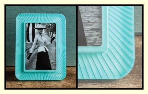 Prisma Photo Frames by Bella Moulding - Clearly Colorful!  Now available in Arci Rays, Premio, Premio Metallic and Sea Premio Collections