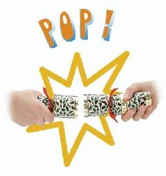 Pop goes the Cracker when pulled apart!