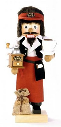 Coffee Barista - 2012 Limited Edition nutcracker by Ulbricht