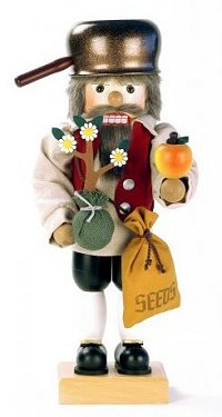 Johnny Appleseed Nutcracker by Ulbricht - 2012 Limited Edition