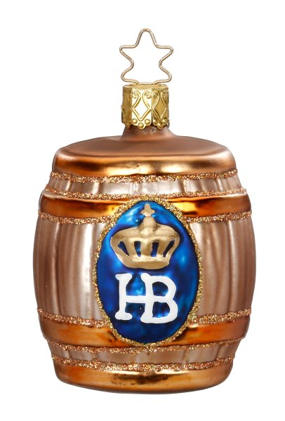 Hofbräu Beer Keg<br>2017 Inge-glas Ornament