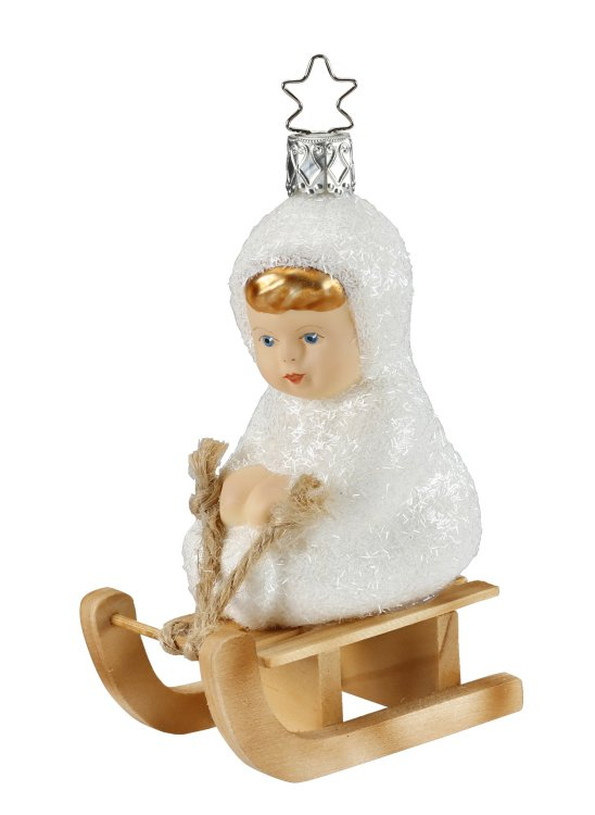 Kinder of Sledding<br>2018 Inge-glas Ornament