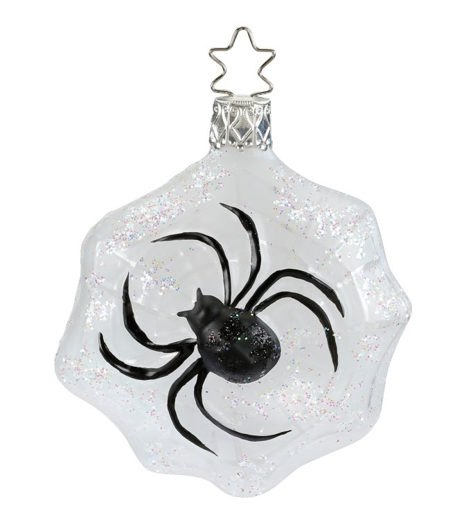 Spinning Christmas<br>Spider Legend Ornament
