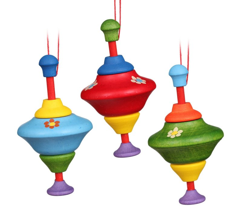 Spinning Toy Tops<br>Ulbricht Ornament
