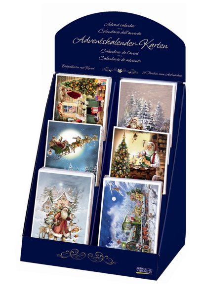 Advent Calendar Cards<br>by Korsch Verlag