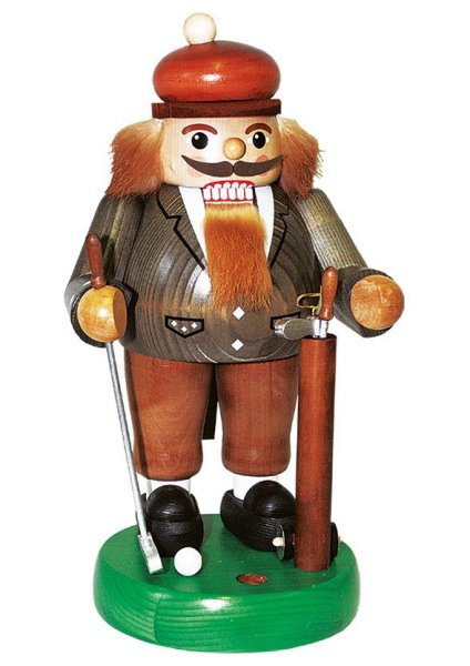 Golfer on the Green<br>Richard Glässer Nutcracker