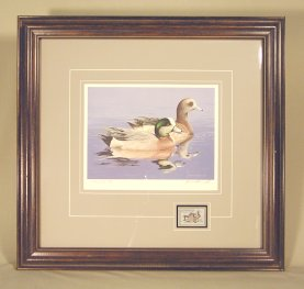 1984 Fed Duck Stamp Print - Framed