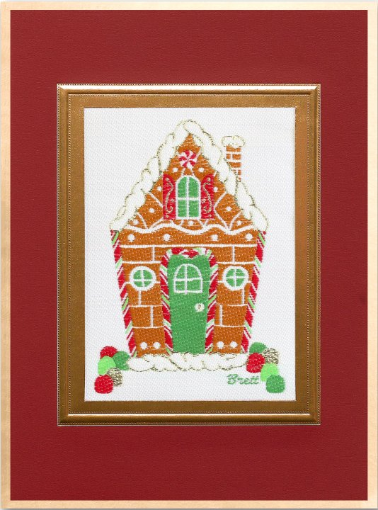Gingerbread House<br>Brett Card Collection 2018