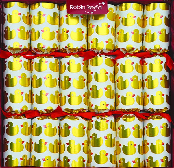 Racing Quackers<br>Robin Reed Party Crackers