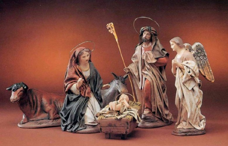Holy Family Set of 6<br> Belenes Puig figures