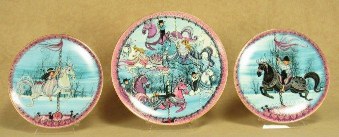 Carousel Triptych