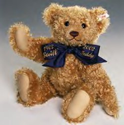 Centenary Teddy Bear<br> 100th Steiff Anniversary