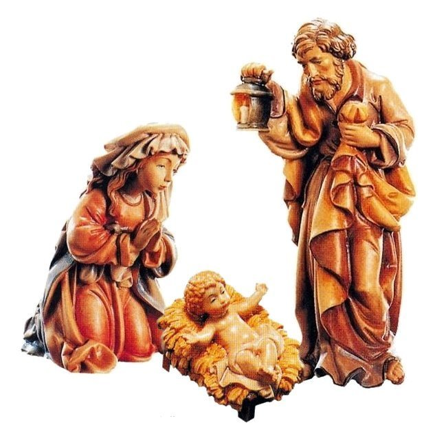 Holy Family Set of 3<br>Dolfi Matteo Nativity