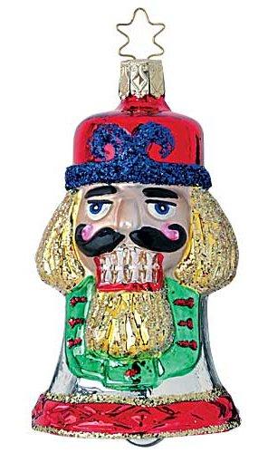 Nutcracker Bell 2004<br>Dated Inge-glas Ornament