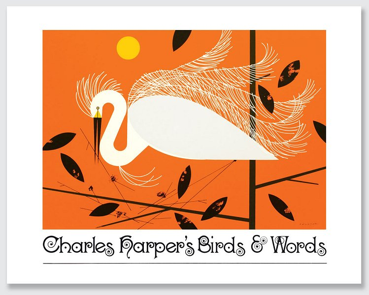Birds & Words<br> by Charley Harper