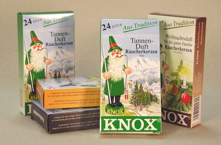 Incense Cones for Smokers<br> Knox of Germany