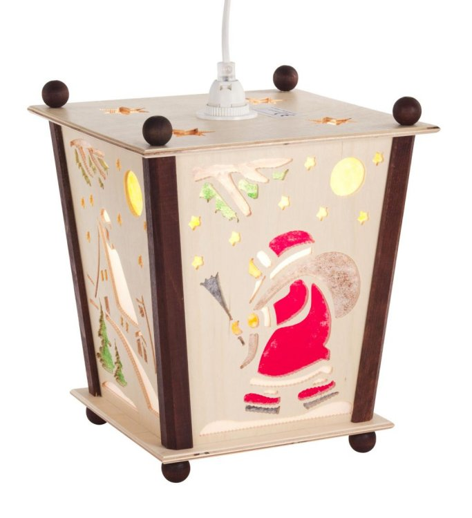 Christmas Lantern<br>Santa-Snowman-Children Motif