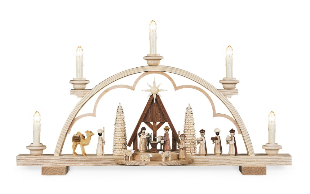 Holy Nativity 5 Lamp<br>Müller Candle Arch