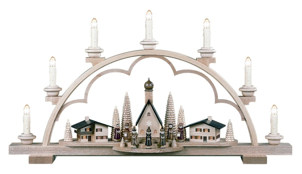Alpine Village Candle Arch<br>Müller - Electrified