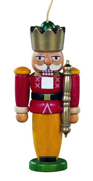 Nutcracker Ornament<br>Müller Wooden Ornament