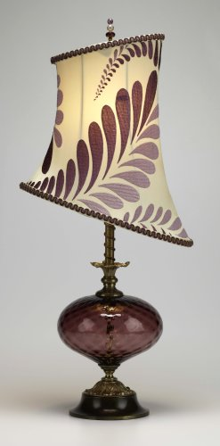 Michaela - Plum<br> Kinzig Design Table Lamps