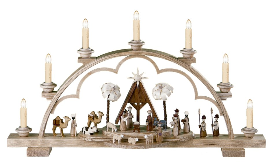 Holy Nativity Candle Arch<br> Müller - Electrified