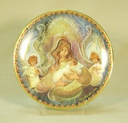 Mother's Angels<br>P Buckley Moss Plate
