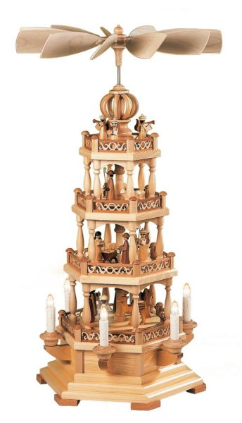 Müller 3 Tiered Natural Pyramid<br>Electrified