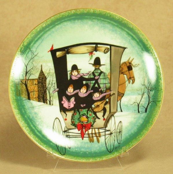 Noel, Noel - 1st Plate<br>PB Moss Christmas 1984