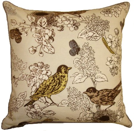 Perch Smoke - Decorative Pillow