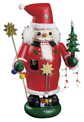 Portly Santa w/ Ornaments