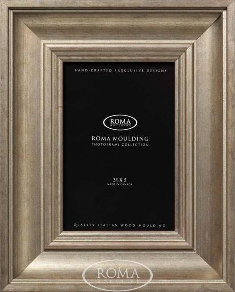 Eleganza - Gilded Silver<br> Roma Photo Frame
