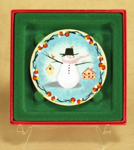 Snow Many Friends - Ornament<br>P Buckley Moss