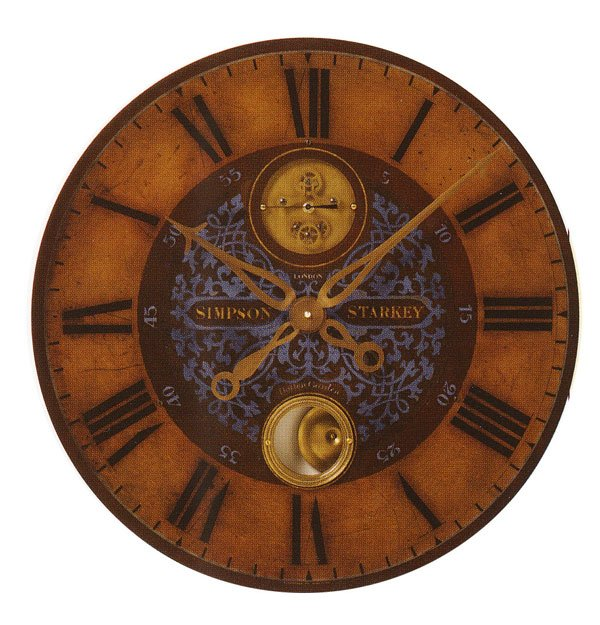 Simpson Starkey - 23 Inch<br> Timeworks Wall Clock