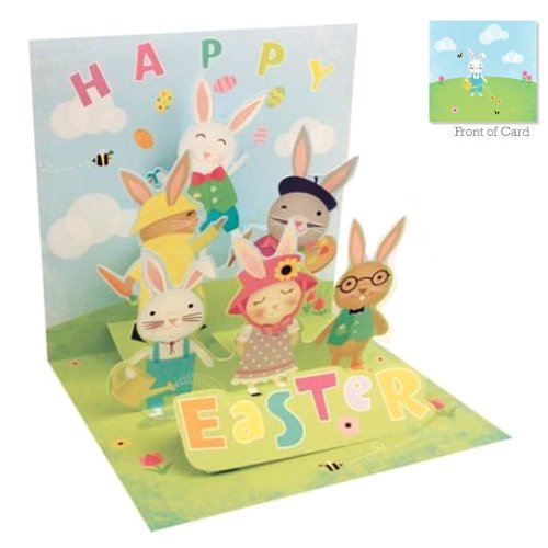 Bunny Tier - Easter<br>Treasures Pop-Up Card