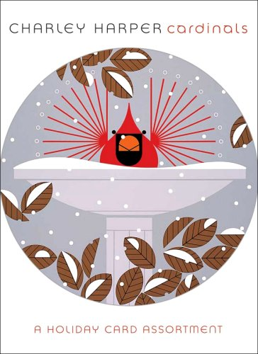 Charley Harper-Cardinals<br>Boxed Christmas Cards