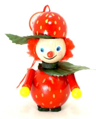 Strawberry Girl<br> Steinbach Ornament