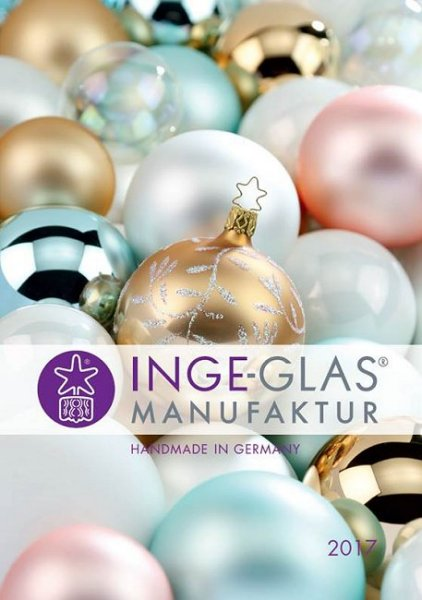 2017 Ornament Catalog<br>Inge-glas Manufaktur