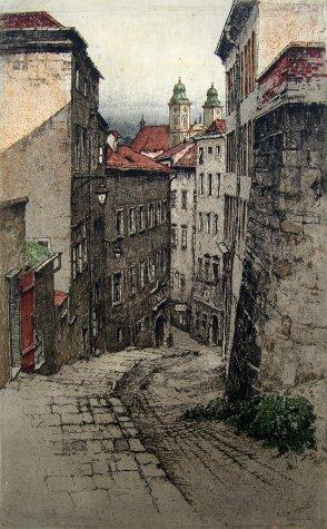 Linz Hofgasse - Austria<br>by Josef Eidenberger