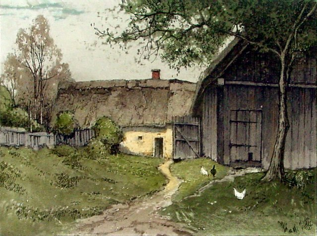 Farmhouse in Mühlviertel<br>by Josef Eidenberger